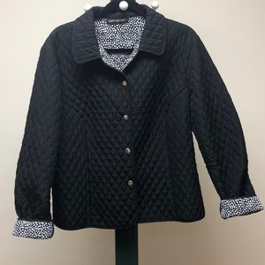 BRIGGS NEW YORK QUIlTED JACKET
